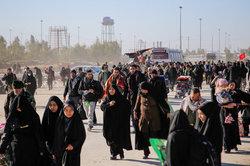 ۱۷۴ هزار زائر از مرز مهران به کشور