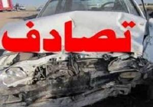 کشته شدن اعضای یک خانواده در تصادف دلخراش برخورد کامیون ایسوزو و پراید