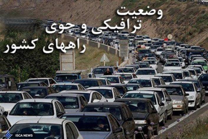 افزایش ۹.۴ درصدی تردد در محورهای برون شهری/ترافیک سنگین در مرزهای ۴ گانه منتهی به کشور عراق