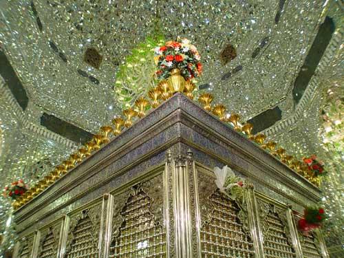 جدیدترین تصویر از ساخت ضریح جدید حضرت عبدالعظیم حسنی(ع)