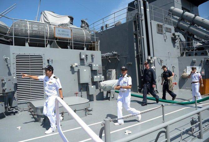 حضور مستقل نیروهای ژاپنی در تنگه هرمز