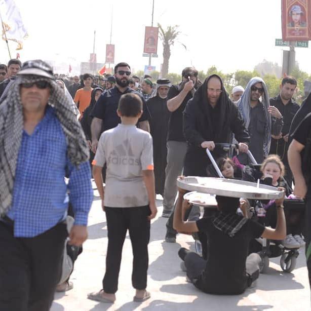 محمدباقر قالیباف به خیل عاشقان اربعین حسینی پیوست +تصاویر