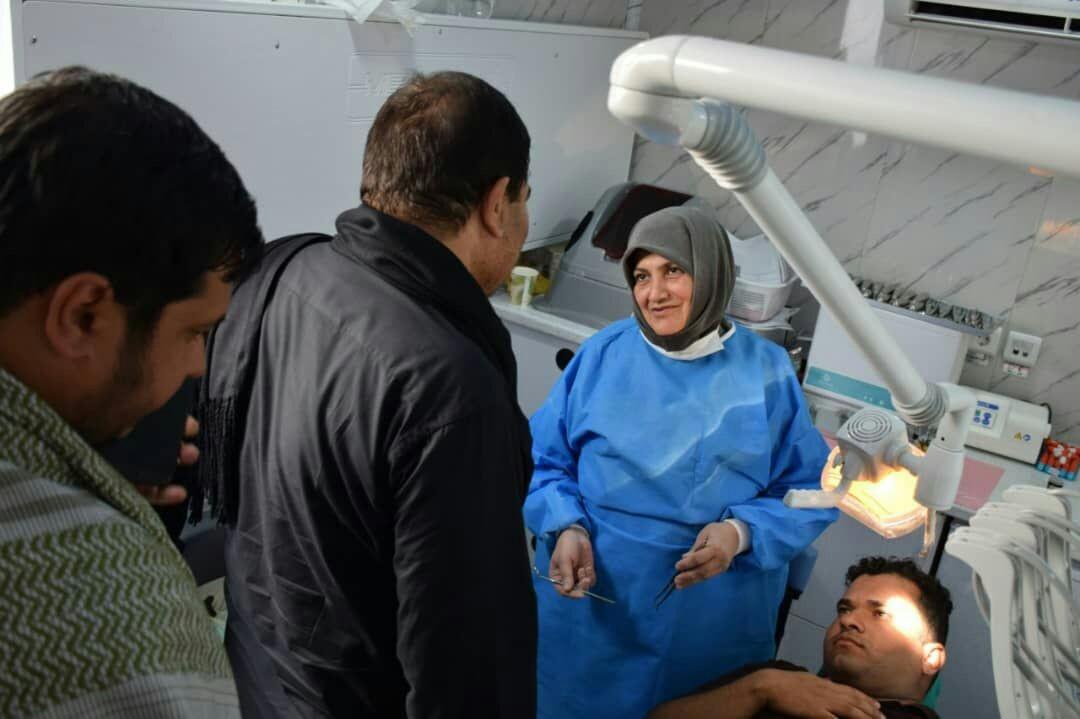 بازدید رئیس ستاد اجرایی فرمان امام از خدمترسانی موکبها در مسیر پیاده روی اربعین