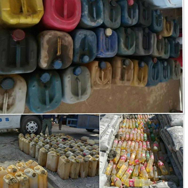 کشف ۳ هزار و ۵۰۰ لیتر سوخت قاچاق در مرزهای گمرکی