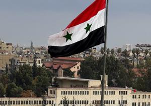 پرچم سوریه در برخی مناطق شمال شرق این کشور به اهتزاز درآمد