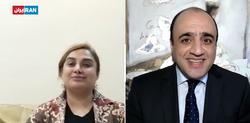 درخواست عجیب کارشناس ایران اینترنشنال از نفر دوم آمدنیوز/ دوربین را بچرخانید تا آن سوی اتاق را ببینیم + فیلم
