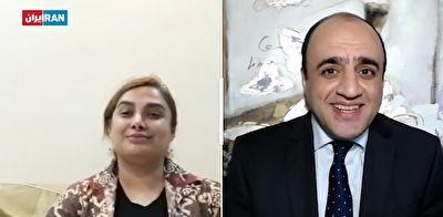 درخواست عجیب کارشناس ایران اینترنشنال از نفر دوم آمدنیوز/ دوربین را بچرخانید تا آن سوری اتاق را ببینیم + فیلم