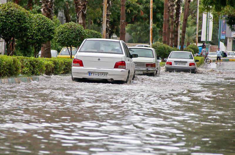هشدار سازمان هواشناسی به استان های شمالی کشور/احتمال وقوع آب گرفتگی معابر
