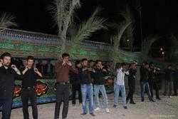عزاداری در شب اربعین در مناطق مختلف کهگیلویه و بویراحمد