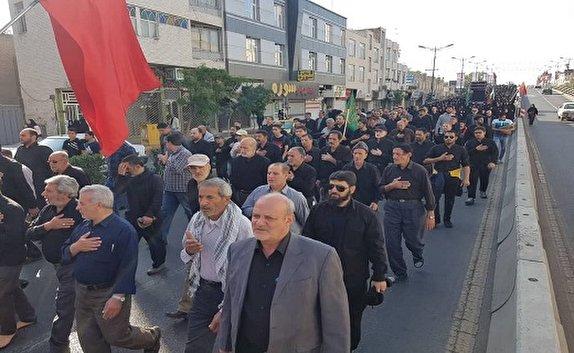 هم نوا با زائران اربعین در قزوین