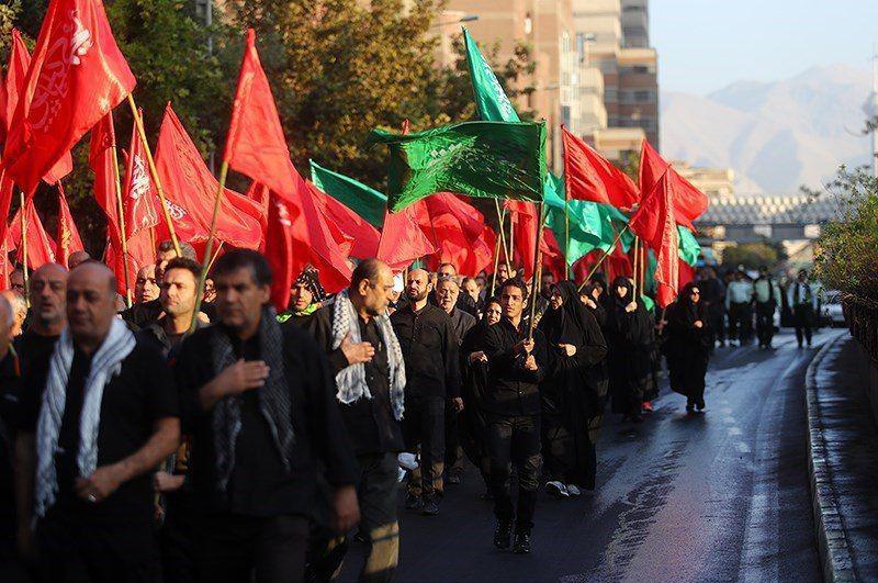 راهپیمایی عاشقان حسینی در اراک