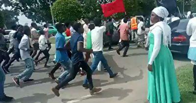 حمله ارتش نیجریه به عزاداران حسینی در روز اربعین + فیلم