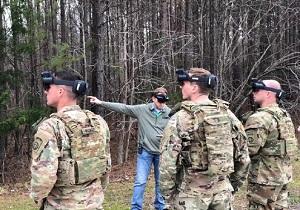 ساخت عینکهای واقعیت مجازی برای بازسازی عملیات جنگی سربازان آمریکایی