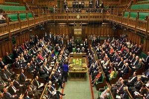 نشست مجلس عوام انگلیس برای بررسی توافق برکسیت