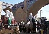باشگاه خبرنگاران -کاروان نمادین اسرای کربلا در «بافران» + فیلم