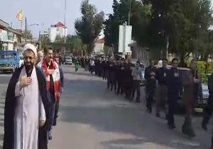 مراسم عزاداری اربعین حسینی در بابلسر/ پخت سمنو در شب اربعین حسینی + فیلم و تصاویر