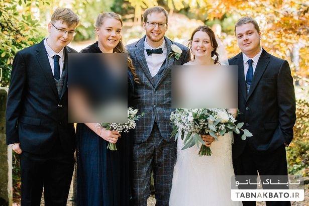 دختر جوان ساعاتی بعد مرگ مادرش مراسم عروسیاش را بر پا کرد+ تصاویر