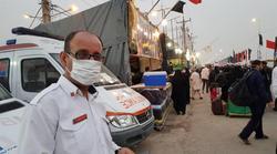 آخرین آمار زائران اربعین مصدوم و بیمار اعزامی به مرزهای ایران/ انتقال ۹۰ زائر مصدوم ترافیکی با بالگردهای اورژانس