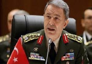 حلوصی آکار: ترکیه آماده از سرگیری عملیات نظامی خود در شمال سوریه است