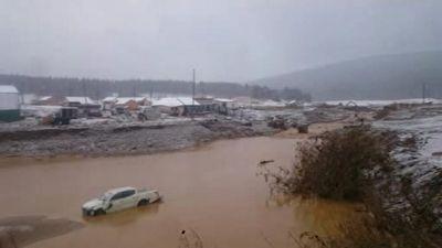 شکسته شدن سد در سیبری با ۱۵ کشته + فیلم