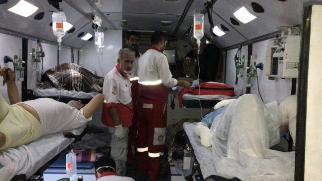 اعزام ۱۰ بیمار بستری شده در بیمارستان الحسین به مرز مهران+ اسامی