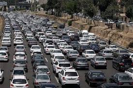 ترافیک پرحجم در ورودهای مشهد/ محدودیت ترافیکی خاصی نداریم