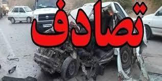 تصادف زنجیرهای خونین در مسیر کامیاران به سنندج/ ۸ نفر کشته و زخمی شدند