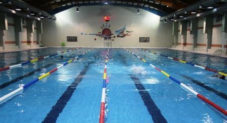 برگزاری یک دوره مسابقه شنا استانی به مناسبت هفته تربیت بدنی