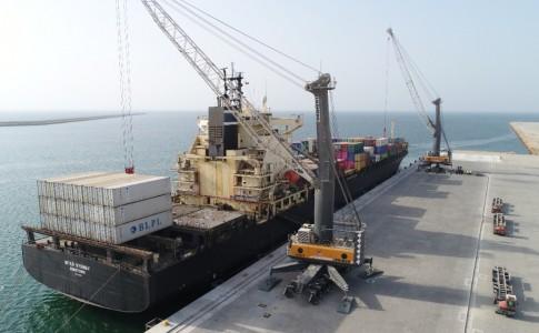 ارسال سومین محموله ترانزیتی کشور افغانستان/ صادرات محصولات استان کرمان از طریق بندر چابهار