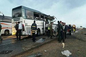 ۳۰ کشته و زخمی در تصادف اتوبوس زائران اربعین در استان همدان/ اعلام اسامی مجروحین تصادف اتوبوس زائران اربعین در استان همدان