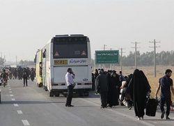 بازگشت ۶ هزارو ۵۶۰ زائر زنجانی با ناوگان حمل ونقل جادهای استان زنجان