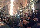 باشگاه خبرنگاران -مراسم سینهزنی به مناسبت اربعین حسینی در بازار قند فروشان تبریز + فیلم