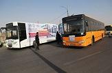 باشگاه خبرنگاران -اعزام ۱۵۰۰ دستگاه اتوبوس به مرزهای چهارگانه کشور