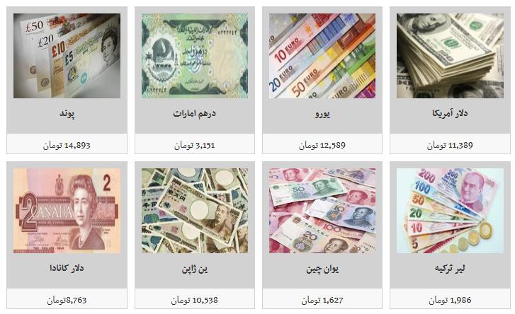 قیمت فروش ارز در صرافی ها/ دلار به قیمت ۱۰ هزار و ۲۰۰ تومان