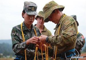 عملیات آموزش نظامی مشترک میان چین و استرالیا