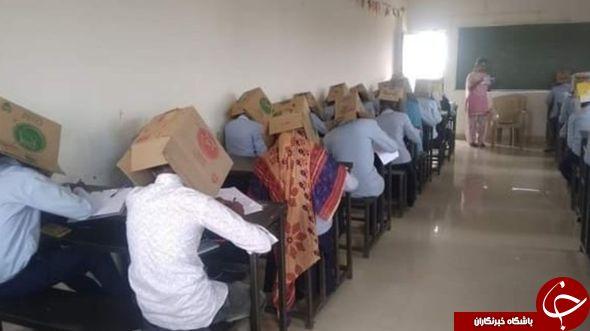 اتفاق عجیب در یکی از مدارس هندوستان! + تصاویر///