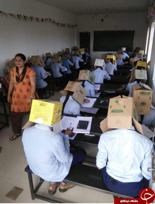 اقدام پر سر وصدای معلم شیمی یک مدرسه پیش دانشگاهی در هند!+ تصاویر