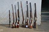 باشگاه خبرنگاران -کشف ۸ قبضه اسلحه شکاری غیرمجاز در رودسر