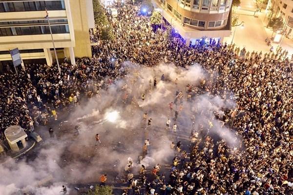 چهارمین روز تظاهرات در لبنان