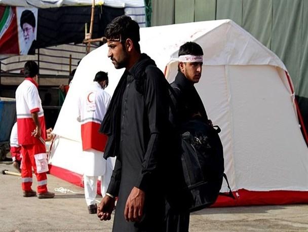 افزونبر ۴هزار زائر پاکستانی در چادرهای هلال احمر اسکان داده شدند