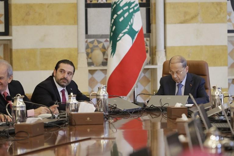 دولت لبنان تشکیل جلسه داد