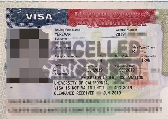 ممانعت از سفر ۲۰ دانشجوی ایرانی به آمریکا