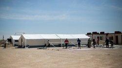 خدمات بیمارستان صحرایی تامین اجتماعی در مرز مهران