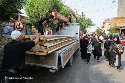جمعآوری مواکب اربعین در کربلا