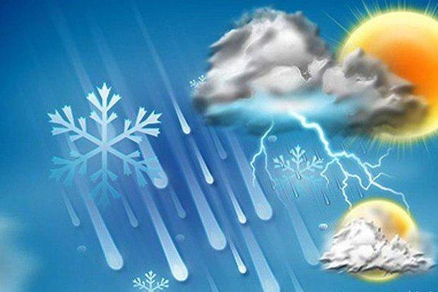 احتمال رگبار باران در کرمان