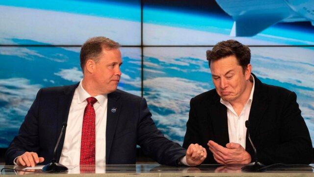 گُل کشیدن ایلان ماسک ۵ میلیون دلار برای ناسا آب خورد