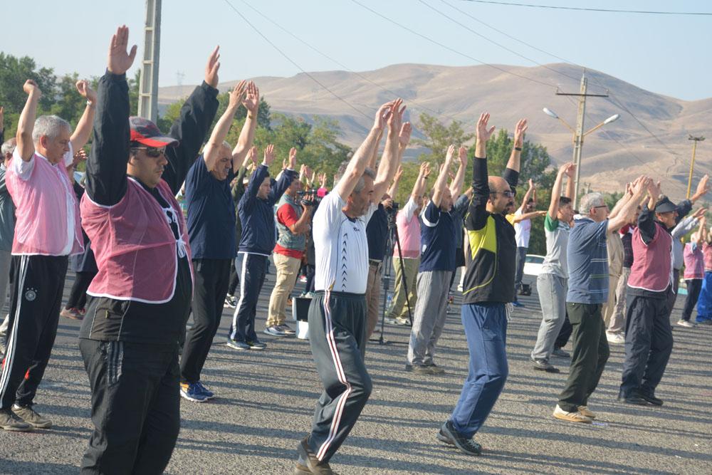 برگزاری ورزش صبحگاهی در ایلام