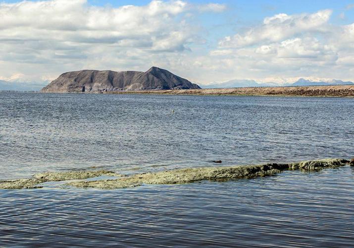 آخرین وضعیت تراز دریاچه ارومیه