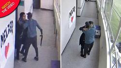اقدام به خودکشی دانش آموز دبیرستانی با اسلحه در داخل کلاس + فیلم