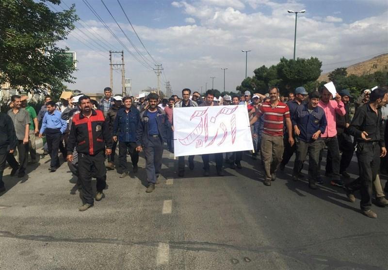 ۲۱ کارگر بخاطر جلوگیری از حرکت قطار مسافربری دستگیر شدند